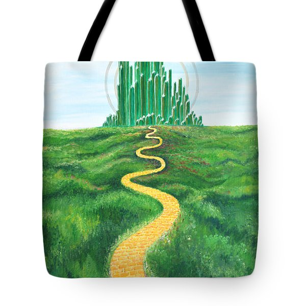 Goodbye Yellow Brick Road Tote Bag