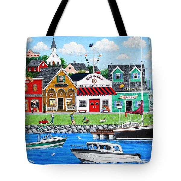 Goodies By The Sea Tote Bag