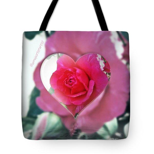 Valentine's Day Rose Tote Bag