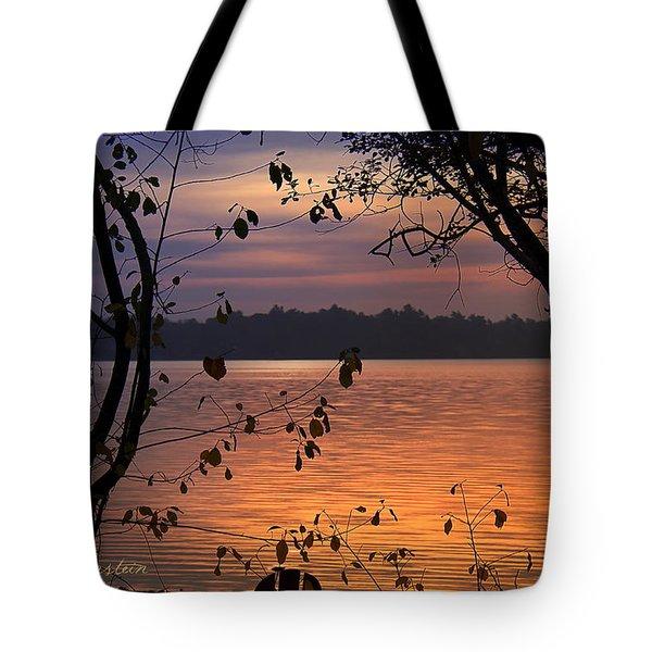 Goodnight Lake Tote Bag