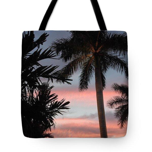 Goodnight Waterside  Tote Bag by K Simmons Luna