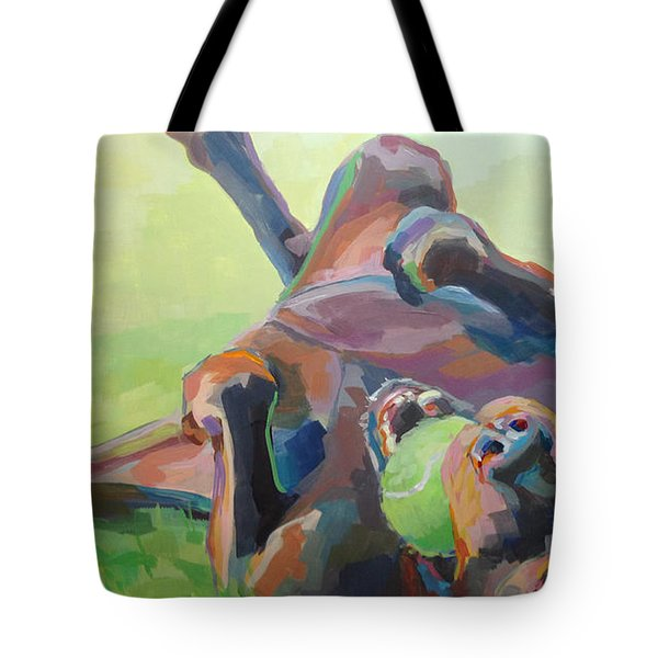 Goofball Tote Bag by Kimberly Santini