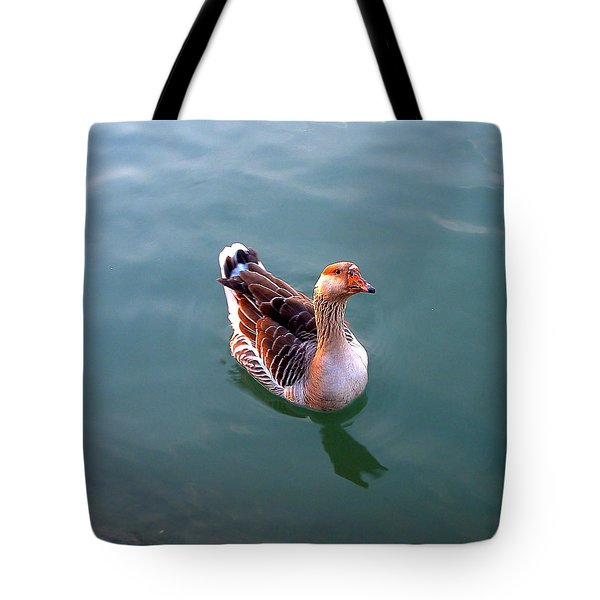 Goose Tote Bag by Marc Philippe Joly