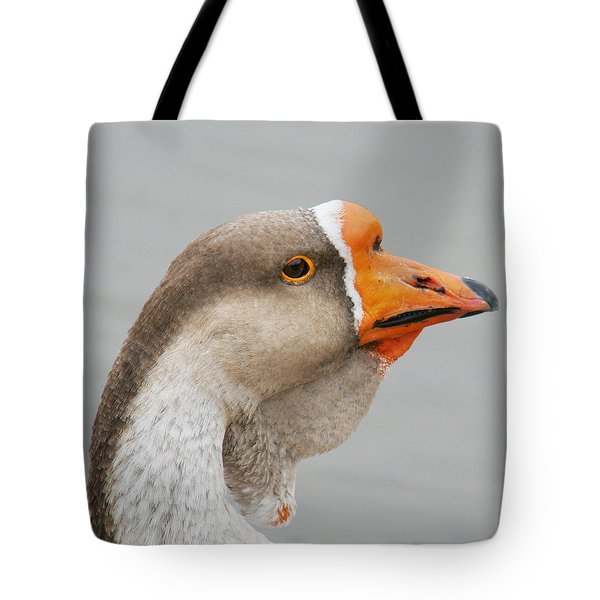 Tote Bag featuring the photograph Goose Neck Wattle by Bob and Jan Shriner