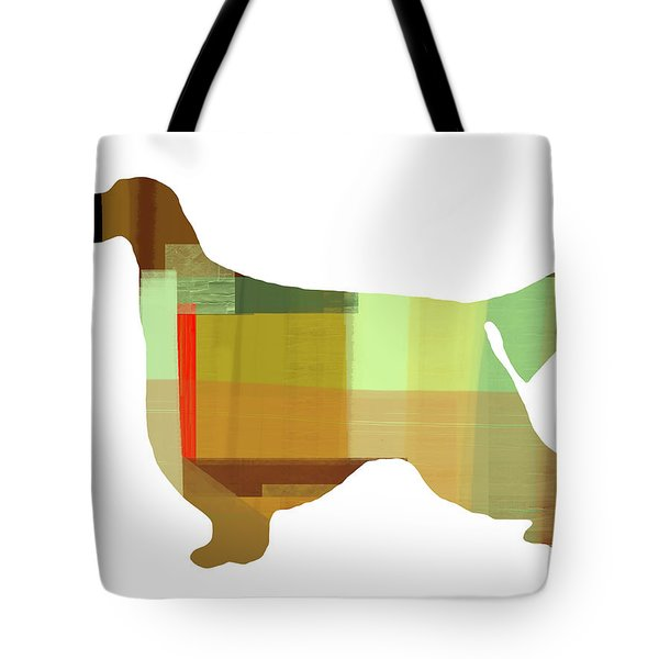 Gordon Setter Tote Bag by Naxart Studio