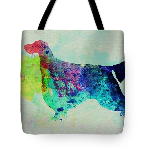 Gordon Setter Watercolor Tote Bag