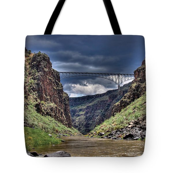 Gorge Bridge Tote Bag
