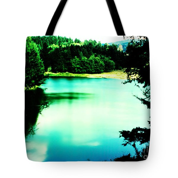 Tote Bag featuring the photograph Gorge Waterway Victoria British Columbia by Eddie Eastwood