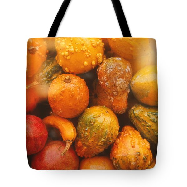 Tote Bag featuring the photograph Gorgeous Gourds by Ira Shander