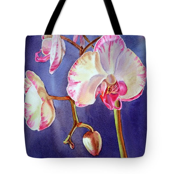 Gorgeous Orchid Tote Bag by Irina Sztukowski