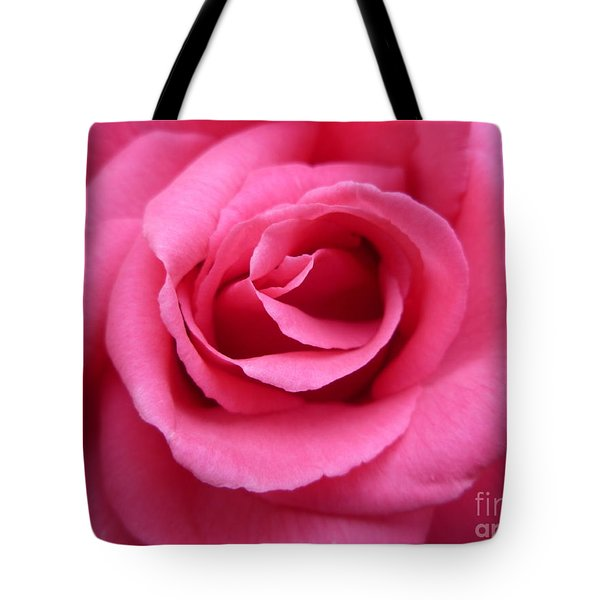 Tote Bag featuring the photograph Gorgeous Pink Rose by Vicki Spindler