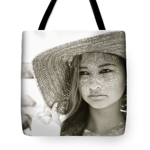 Gorgeous Young Woman Tote Bag by Kicka Witte