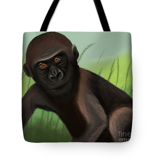 Gorilla Greatness Tote Bag