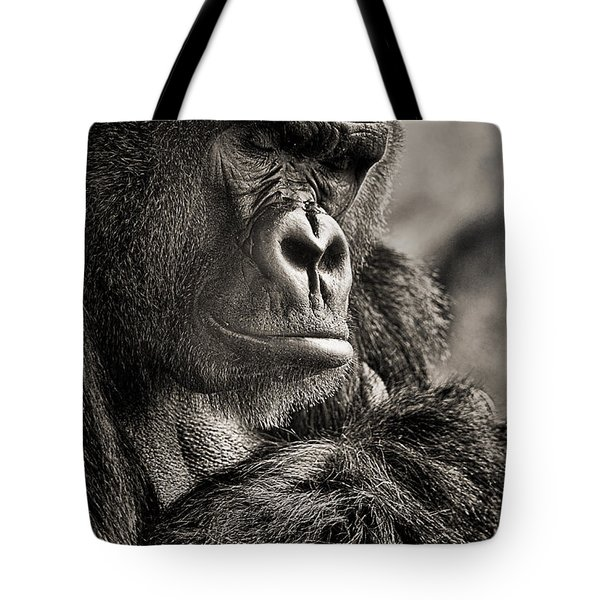 Gorilla Poses II Tote Bag
