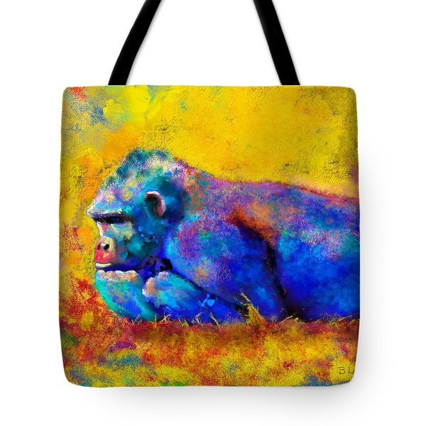 Gorilla Tote Bag by Sean McDunn