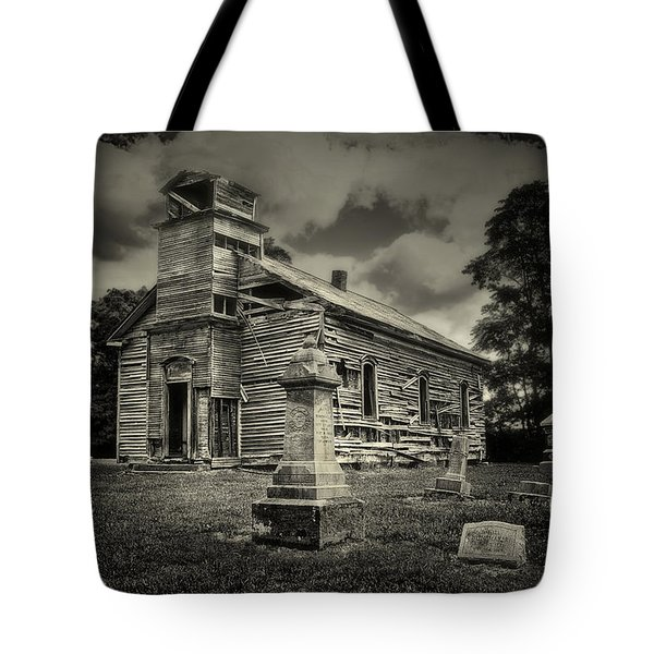 Gospel Center Church II Tote Bag by Tom Mc Nemar