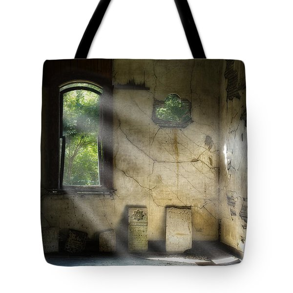 Gospel Center Church Interior Tote Bag