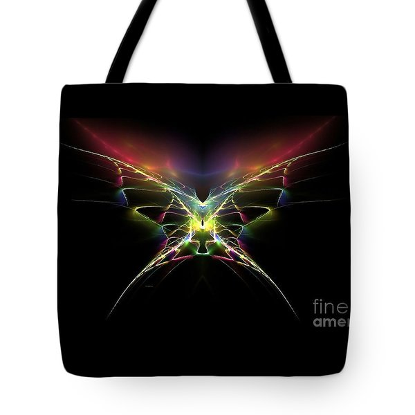 Tote Bag featuring the digital art Gossamer Wings by Greg Moores