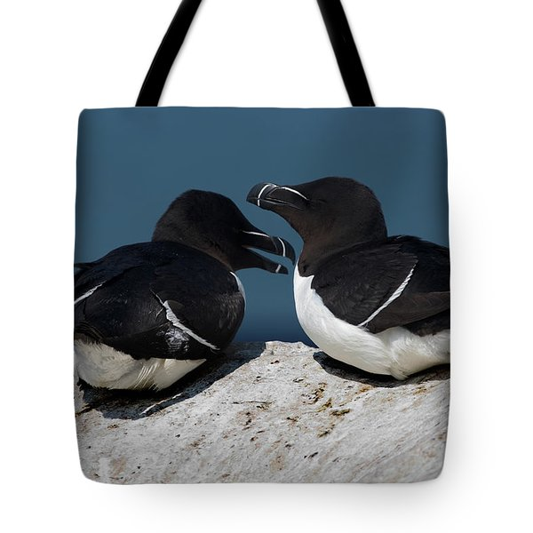 Gossip Mongers Tote Bag by Brent L Ander