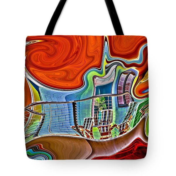 Gossip Session Tote Bag by Nick David
