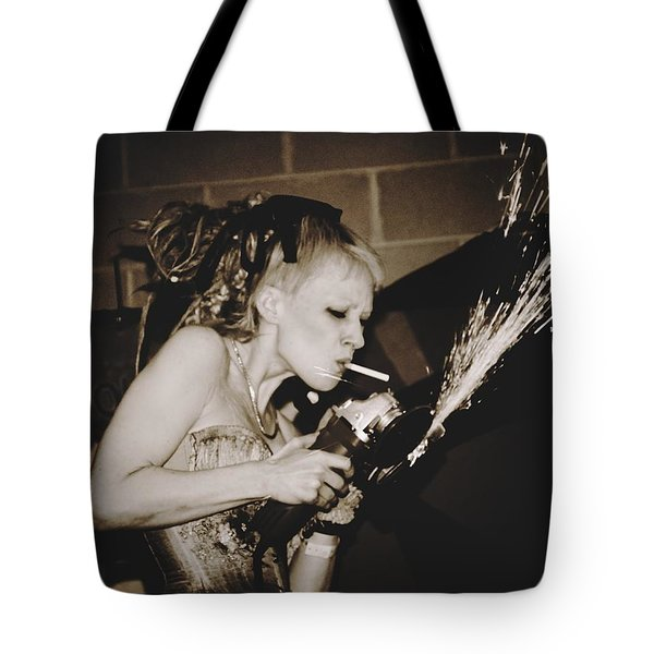 Tote Bag featuring the photograph Got A Light by Alice Gipson