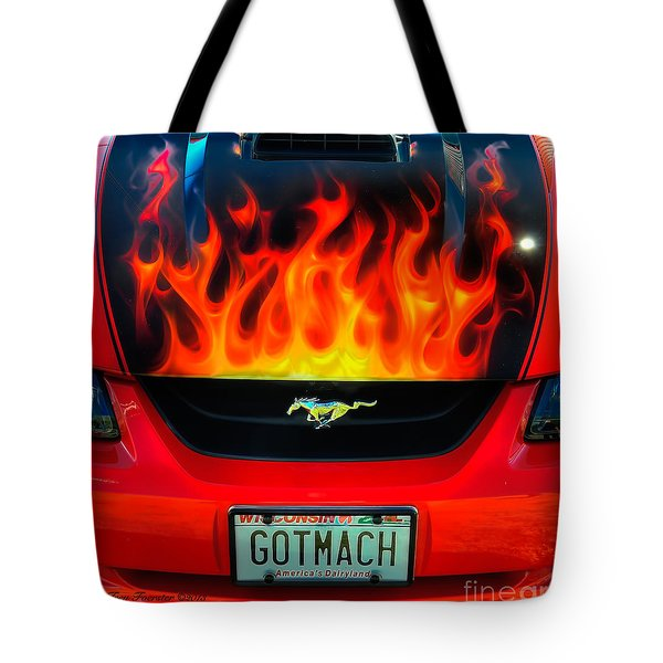 Tote Bag featuring the photograph Got Mach by Trey Foerster