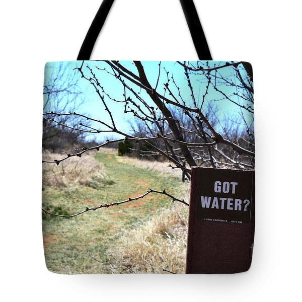 Got Water Tote Bag