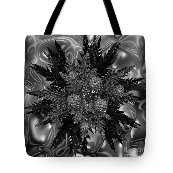 Goth Funeral Wreath Tote Bag by First Star Art