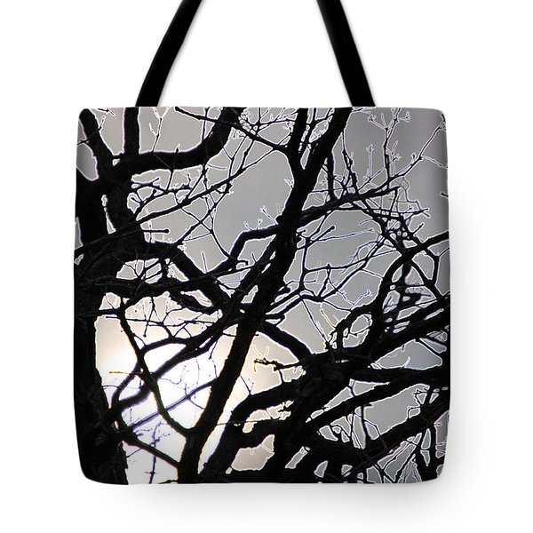 Goth Tree Tote Bag by First Star Art