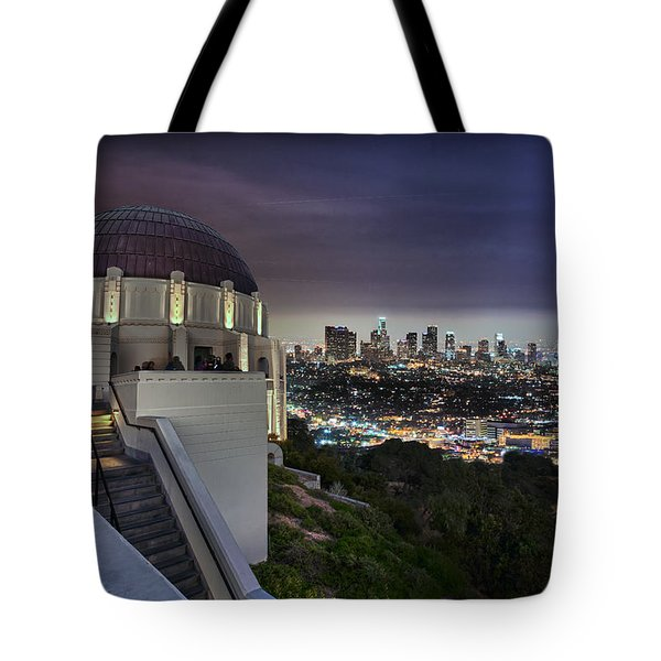 Gotham Griffith Observatory Tote Bag