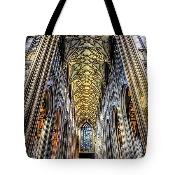 Gothic Architecture Tote Bag by Adrian Evans