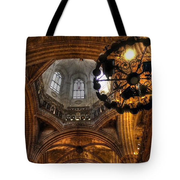 Gothic Cathedral Barcelona Tote Bag