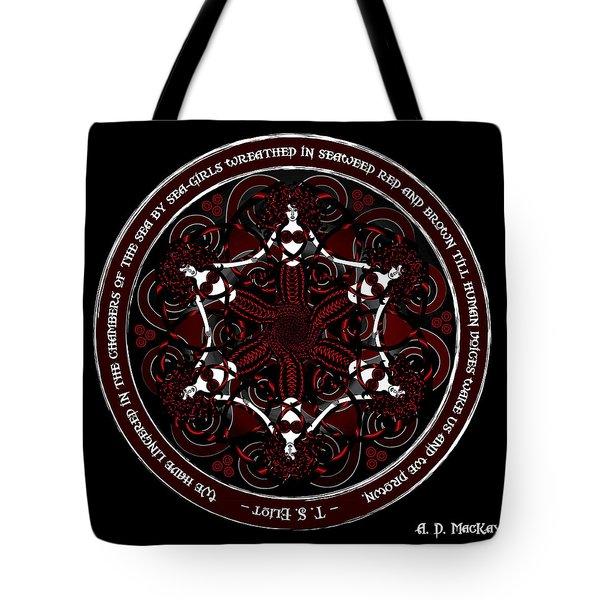 Gothic Celtic Mermaids Tote Bag