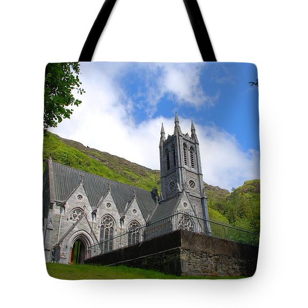 Gothic Church Tote Bag by Charlie and Norma Brock