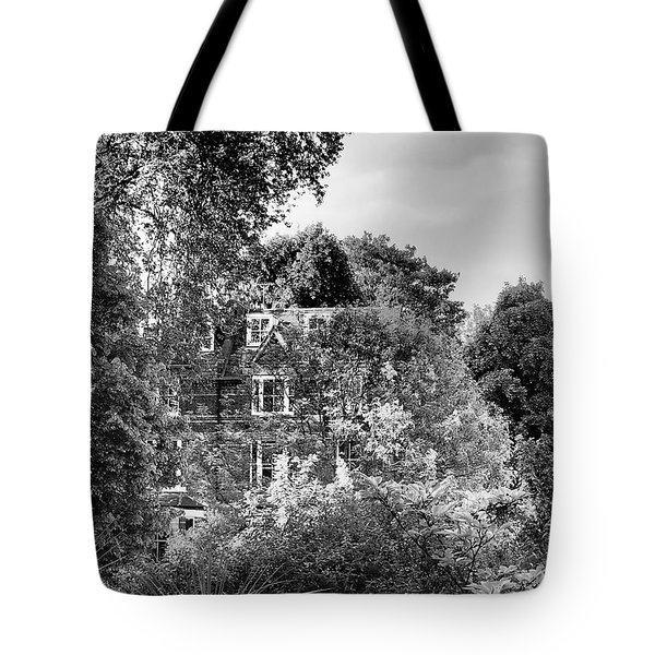 Gothic Hampstead Tote Bag by Rona Black