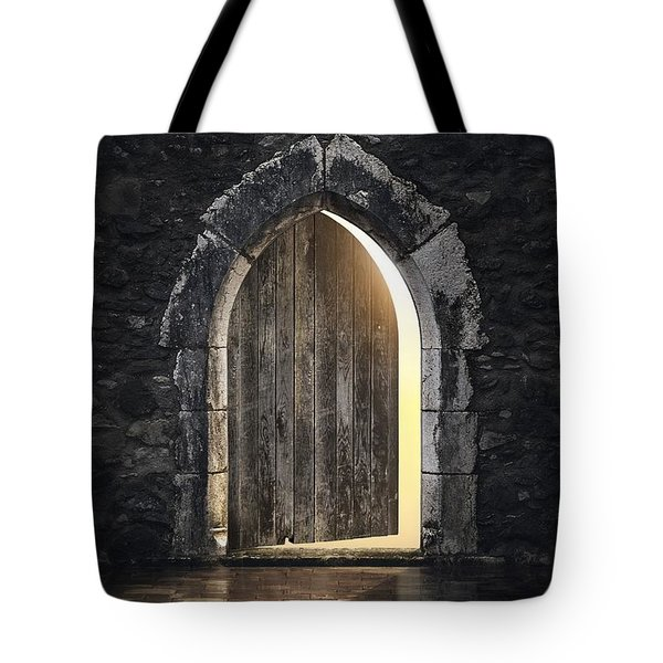 Gothic Light Tote Bag
