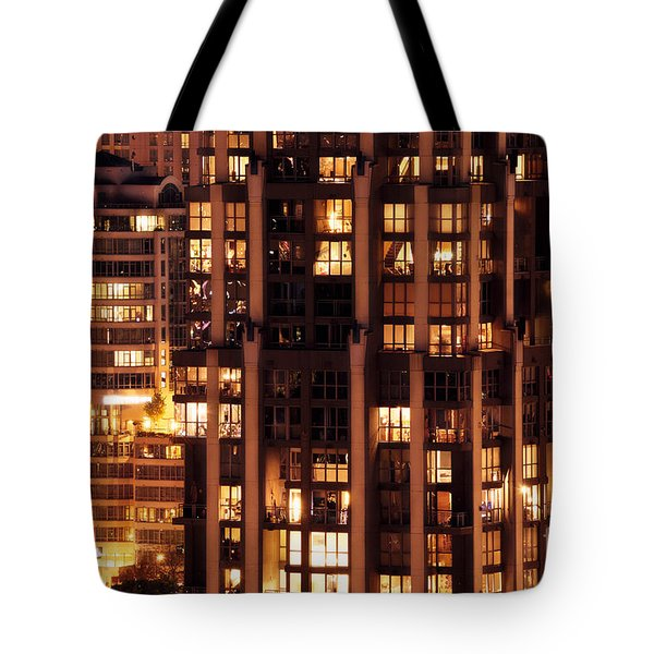 Tote Bag featuring the photograph Gothic Living - Yaletown Ccclxxx by Amyn Nasser