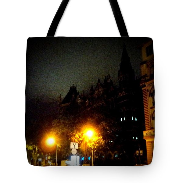 Tote Bag featuring the photograph Gothic Skyline by Salman Ravish