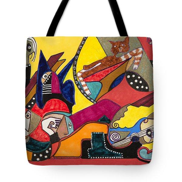 Gotta Go Tote Bag by Dennis Davis