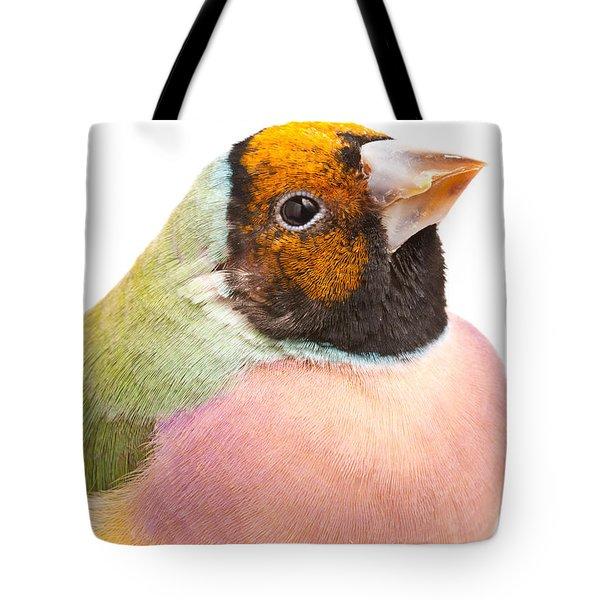 Gouldian Finch Erythrura Gouldiae Tote Bag