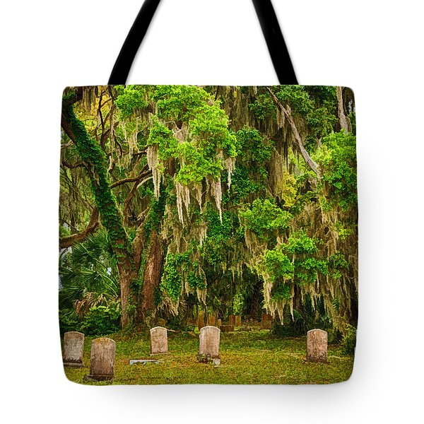 Gould's Cemetery Tote Bag by Priscilla Burgers