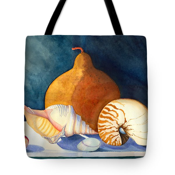 Gourd And Shells Tote Bag