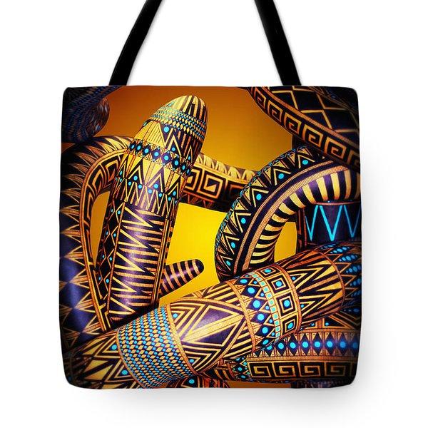 Gourd Snake Tote Bag