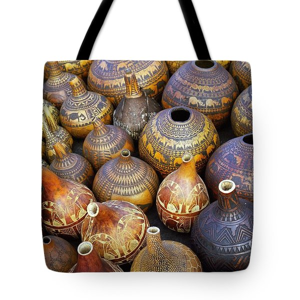 Tote Bag featuring the photograph Gourds In Kenya by Susie Rieple