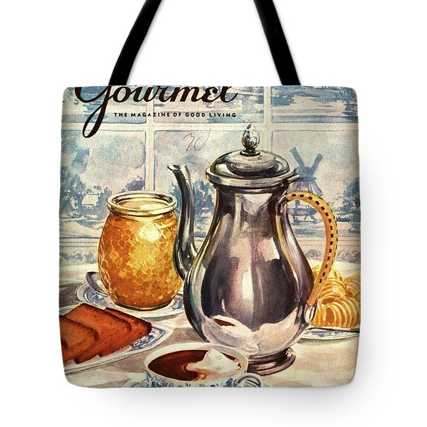 Gourmet Cover Featuring An Illustration Tote Bag