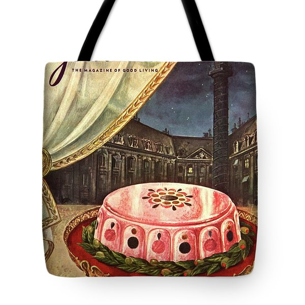 Gourmet Cover Featuring Ham Mousse Tote Bag