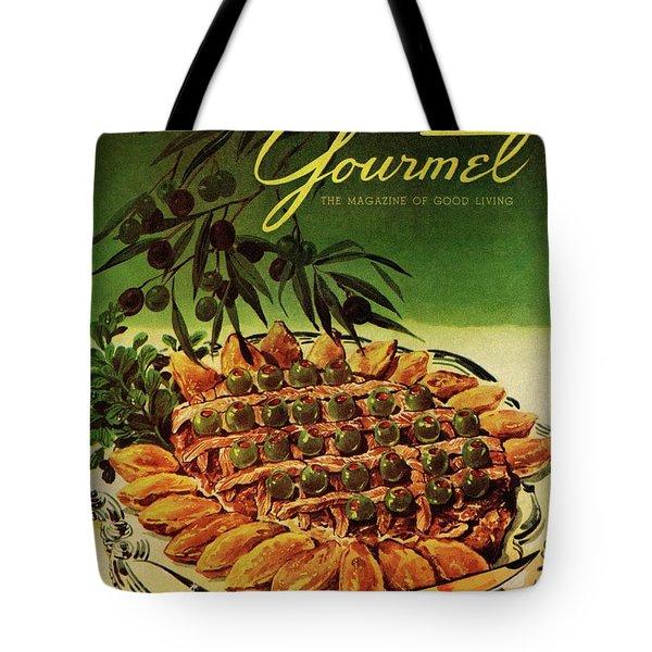 Gourmet Cover Illustration Of Entrecote A La Tote Bag