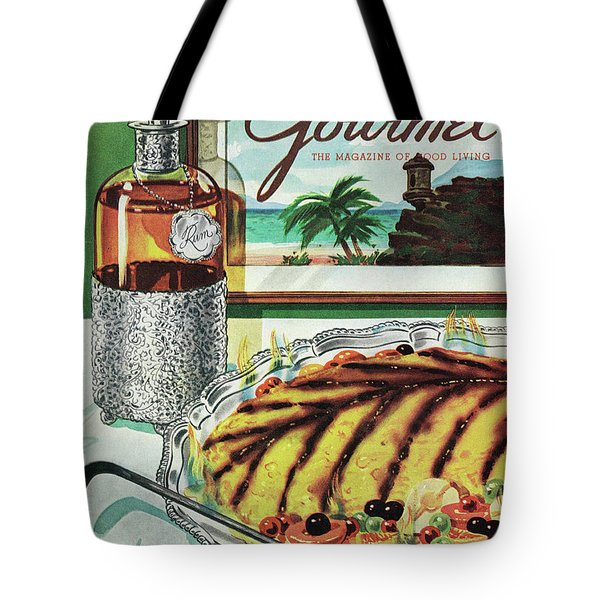 Gourmet Cover Of An Omelette Au Ruhm Tote Bag