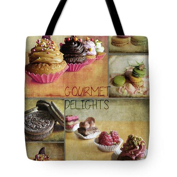 Gourmet Delights - Collage Tote Bag