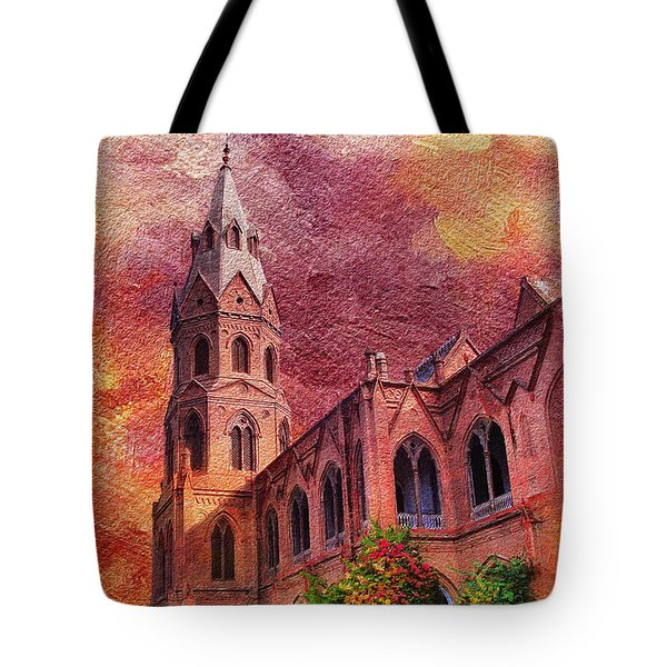 Government College Lahore Tote Bag by Catf